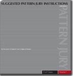 Pattern Jury Instructions
