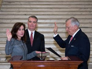 Paige R Whitaker Swearing In